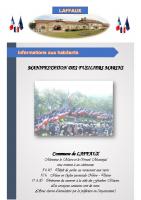 22 Septembre 2020 – Manifestation Fusiliers Marins et amicale de chasse