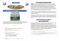 05 Janvier 2021 – Travaux sur la RN2, collecte des déchets en 2021, nouveau compteur LINKY, liste électoral, travaux dans la commune, ASW2-AC44, COVID-19 et dépôt de déchets verts