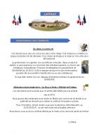 """15 Mars 2021 – Vol dans la commune, admission école maternelle """"La Souris Verte"""" d'Anizy-le-Château"""