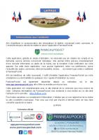 08 Avril 2021 – Application PanneauPocket et guide de son installation