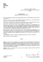 Arrêtés n°DCL – BRGE  – Pénétration dans les propriétés privées