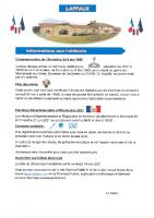 07 Mai 2021 – Commémoration armistice, fête des mères, élections départementales et régionales 2021 et inscription sur la liste électorale.