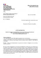 Note d'information relative à l'obligation de présentation d'un passe sanitaire sur le lieu de travail  et à la vaccination obligatoire contre la Covid-19 dans la fonction publique territoriale