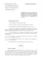 23 Juin 2000 – Arrêté permanent réglementant la circulation au droit des chantiers routiers sur les routes, voies et chemins à l'intérieur de l'agglomération et sur les voies communales et chemins ruraux, hors agglomération de Laffaux.